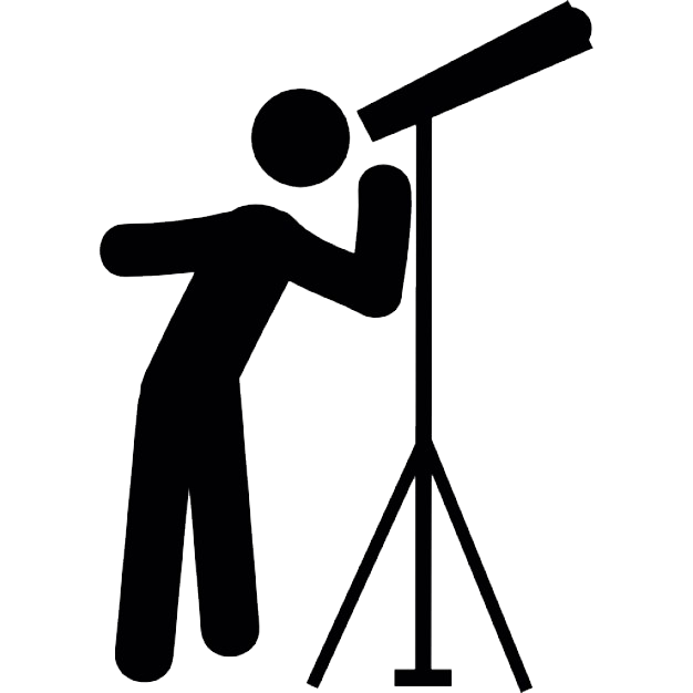 graphic transparent stock Icon web icons png. Telescope clipart.