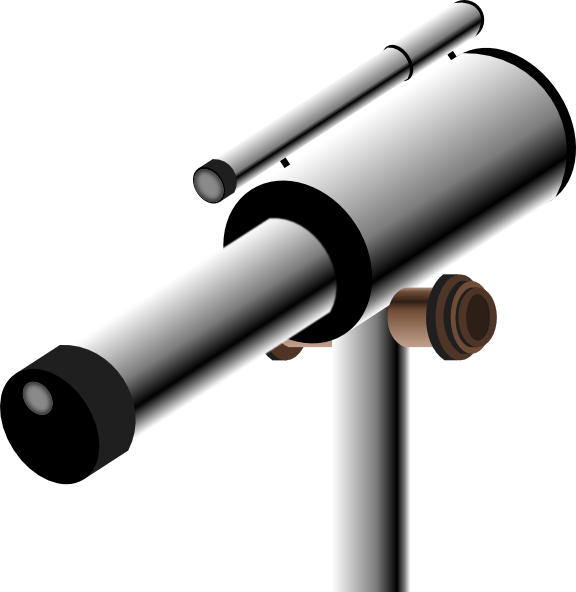 free Telescope Clip Art at Clker