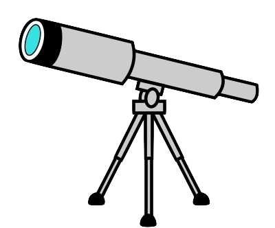 svg freeuse download telescope clipart png #67847402