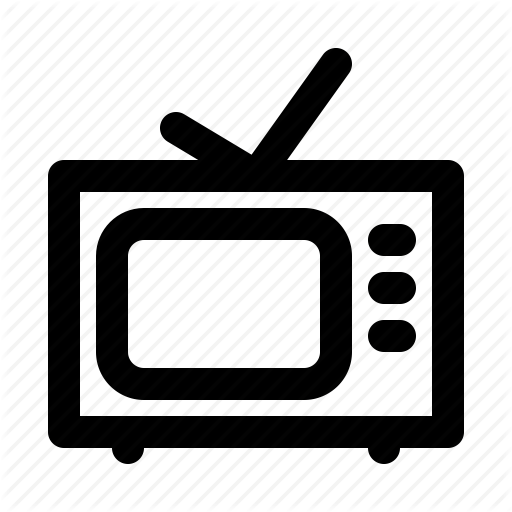 graphic library library Television clipart newscasting. News broadcast bold by