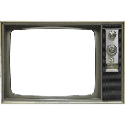 clipart free download Television Empty Vintage transparent PNG
