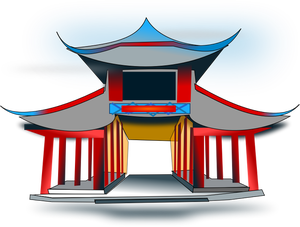 vector library library Temple Drawing at GetDrawings