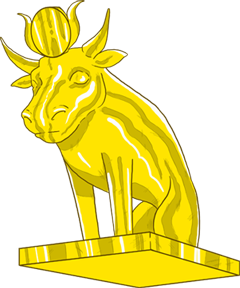 png black and white download Ten commandments clipart 2nd. The golden calf at.