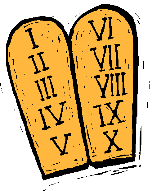 clipart free Ten commandments clipart. Picture this for writers