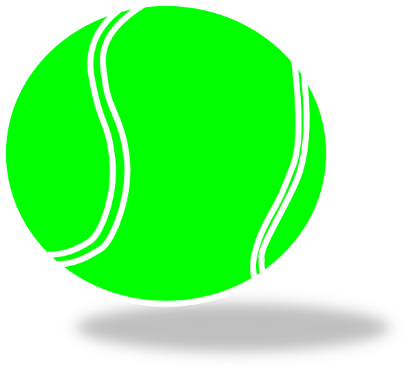 graphic royalty free stock Tennis ball clipart. Clip art at clker