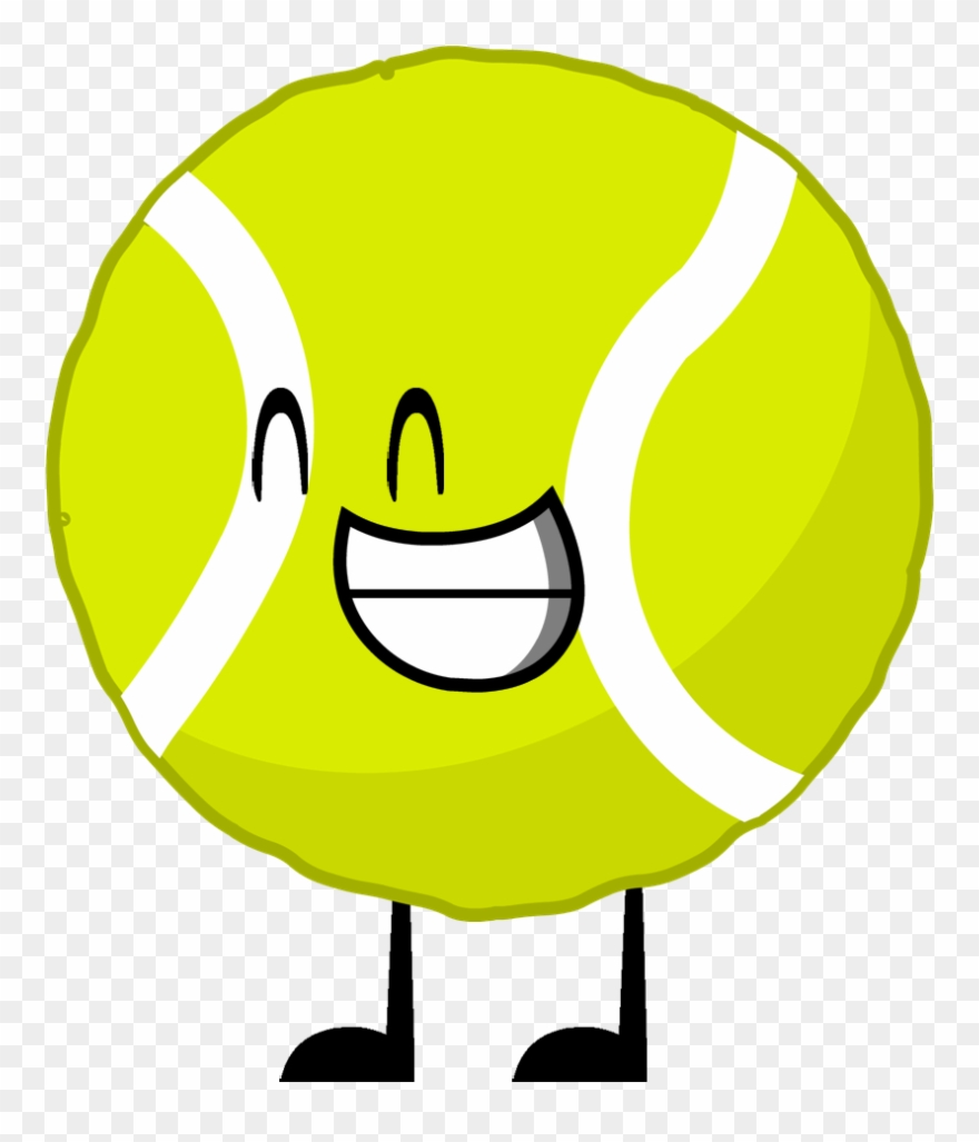 jpg library library Ball bfdi png . Tennis balls clipart.