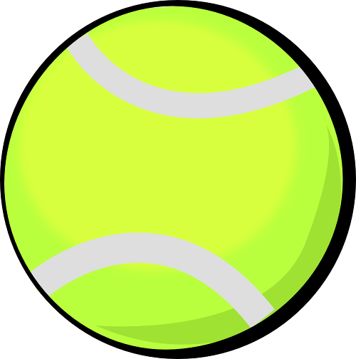 banner black and white Tennis balls clipart. Ball clip hostted clipartix.