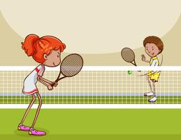 image freeuse stock Tennis clipart. Free vector art downloads