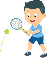 vector royalty free download Sports free to download. Tennis clipart