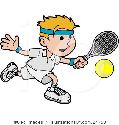 graphic black and white library Tennis clipart free.  clipartlook