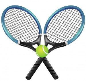 clip art royalty free library Download panda . Tennis clipart free