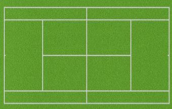 graphic royalty free Free cliparts download clip. Tennis court clipart