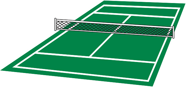 graphic royalty free Tennis court clipart. Free cliparts download clip