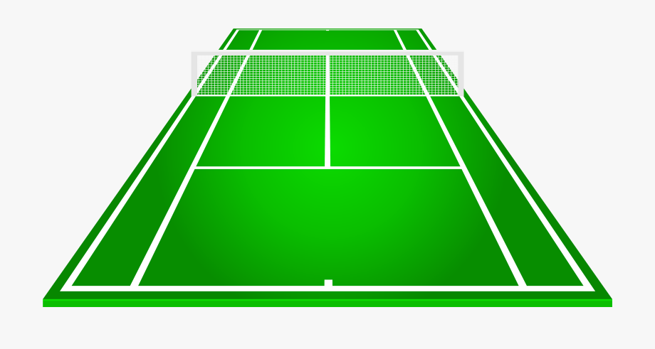 clip black and white library Tennis courts clipart. Court png