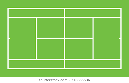 black and white Stati png images . Tennis courts clipart