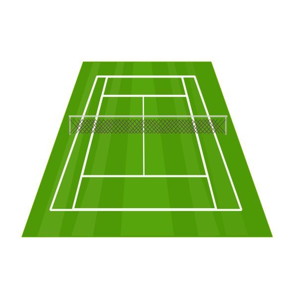 image royalty free library Court clip art at. Tennis courts clipart