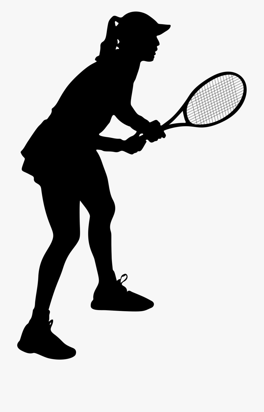 image free download Woman free cliparts on. Tennis player clipart
