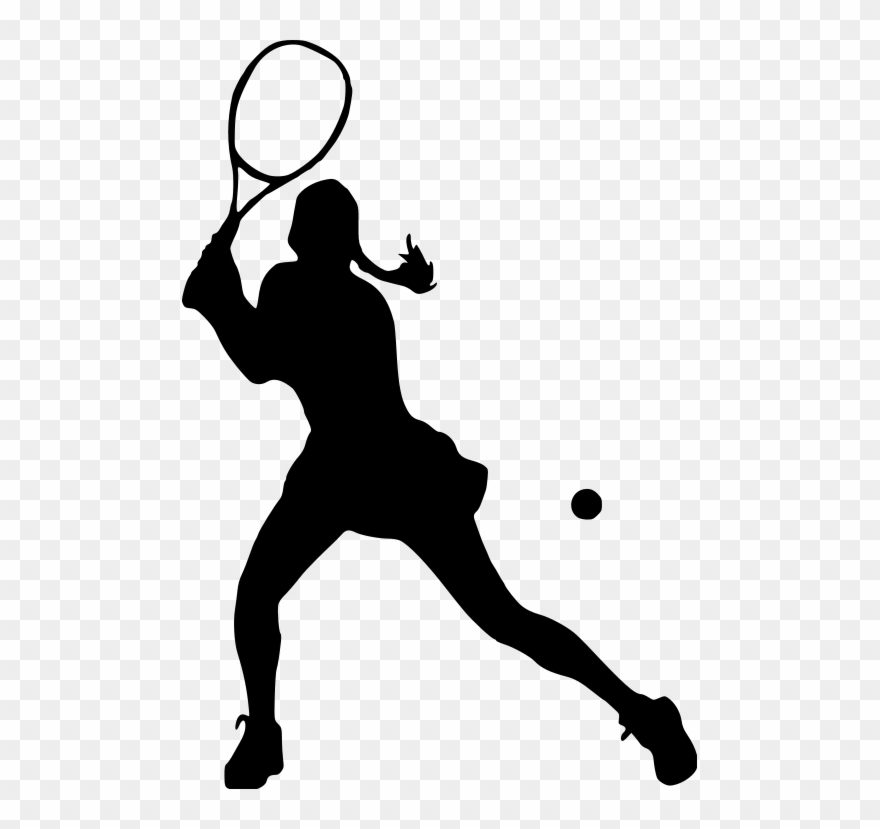 vector freeuse library Amazin tumbler image gallery. Tennis player clipart