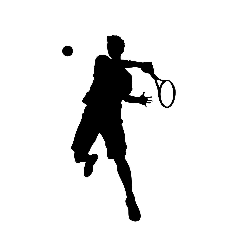 graphic Tennis player clipart. Pin szerz je s