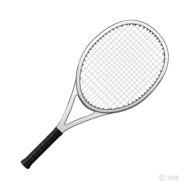 graphic free library Tennis racket clipart. Free picture illustoon .