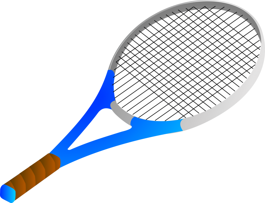 clip stock Tennis racket clipart black and white.  cliparts for free