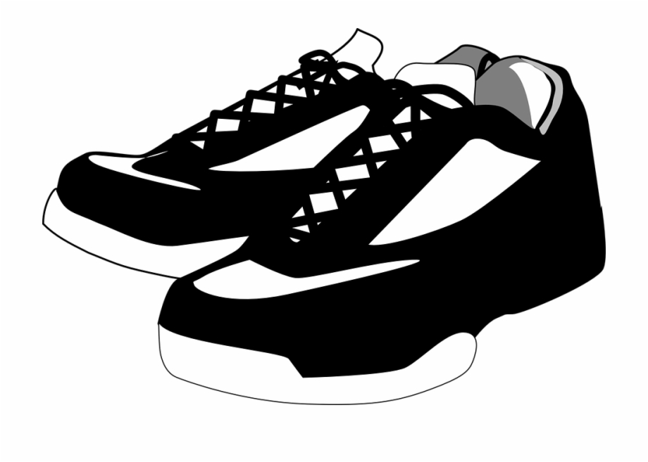 banner stock Shoe with transparent background. Tennis shoes clipart