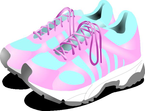 vector transparent library Women s gym clip. Tennis shoes clipart.