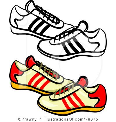 graphic freeuse  clipartlook. Tennis shoes clipart