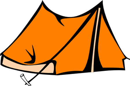 jpg download Tent and campfire clipart. Download wallpaper camping background