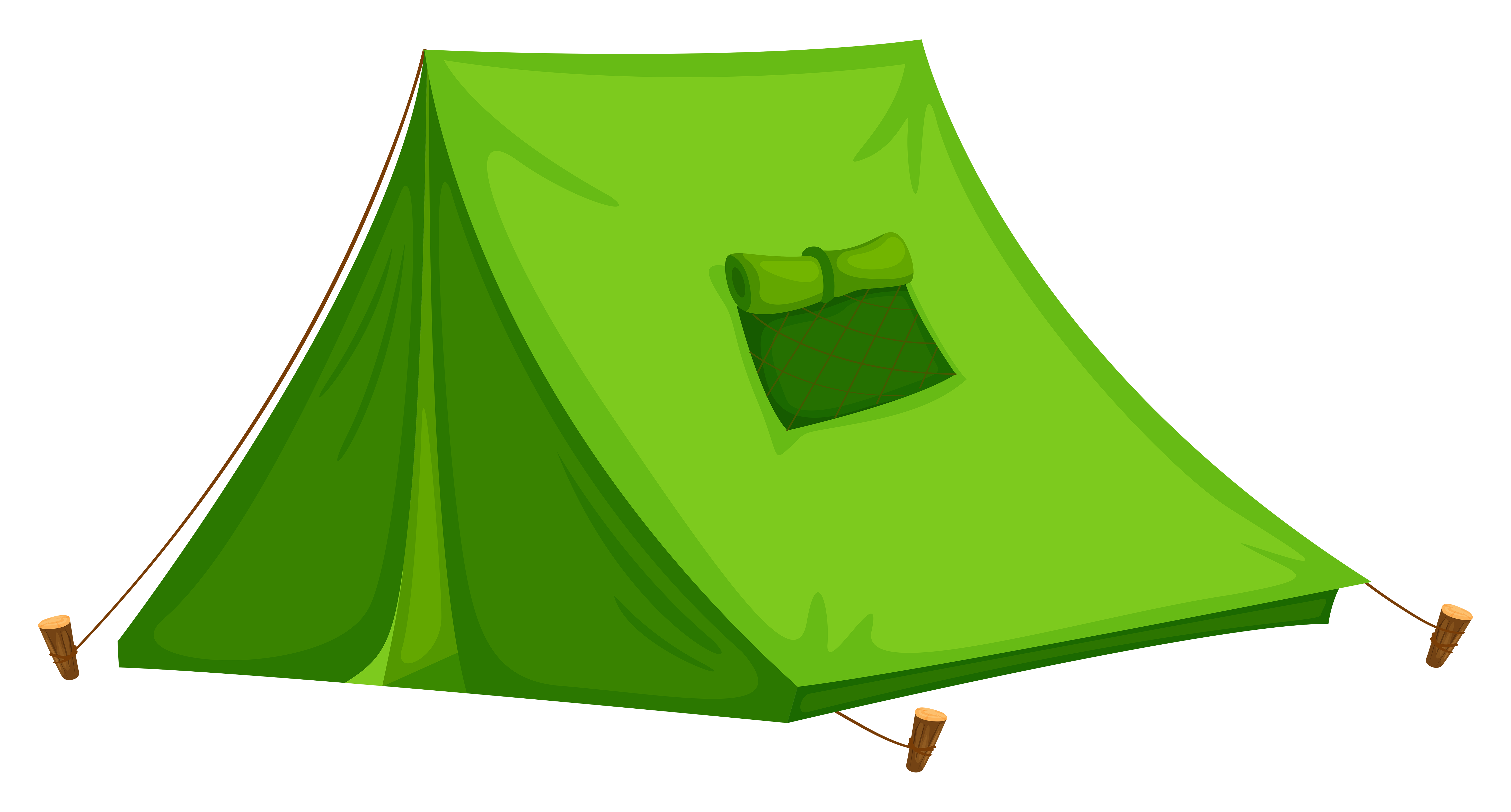 picture freeuse Tent clipart. Camping clip art green.