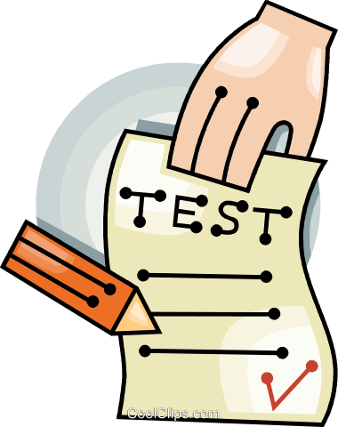 graphic freeuse stock School testing clipart. Free test cliparts download