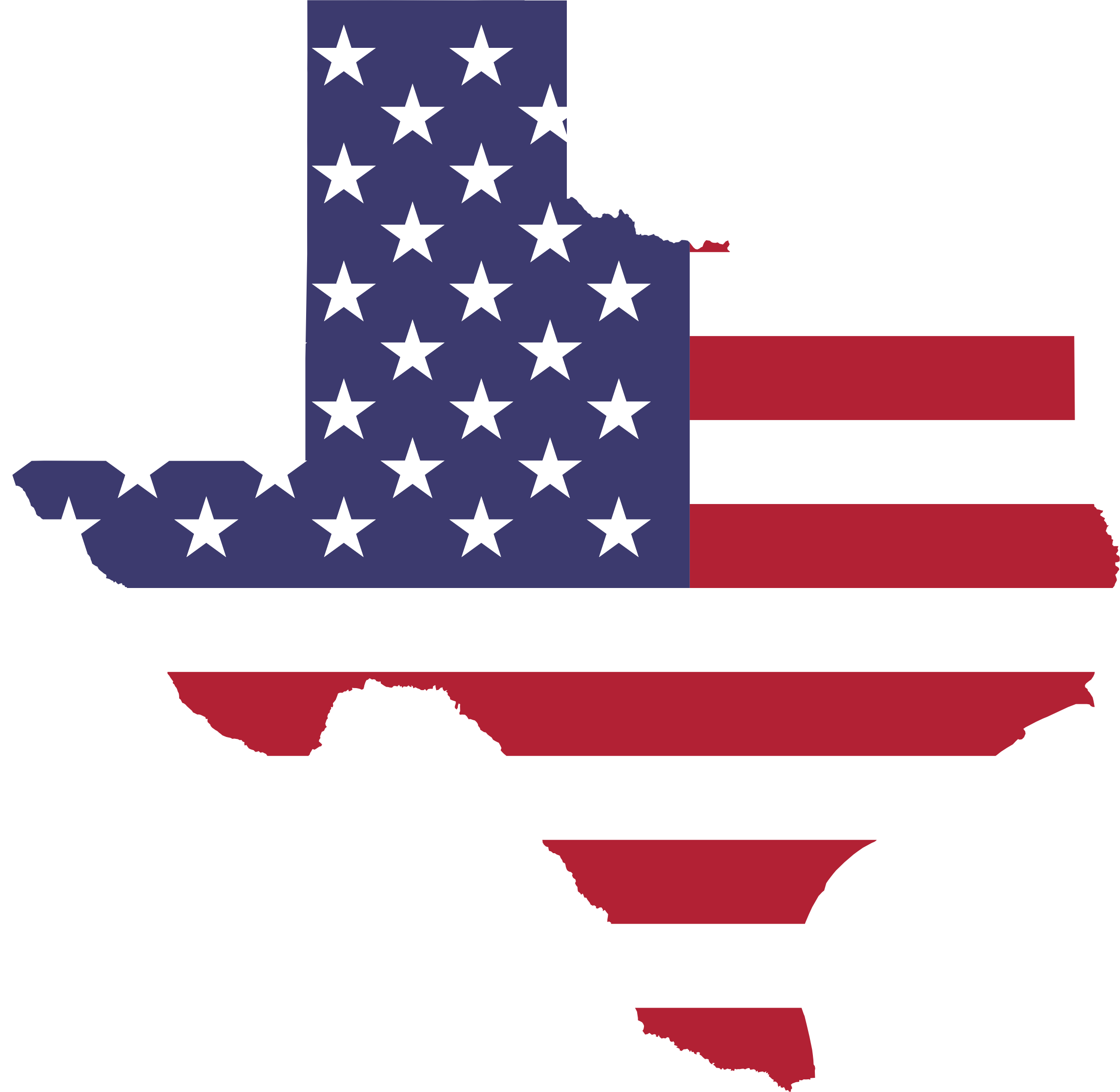 png transparent download American flag map no. Texas border clipart