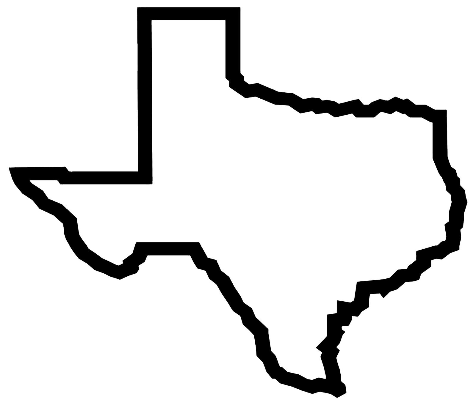 svg royalty free library Texas shape clipart. Outline free images wildcard