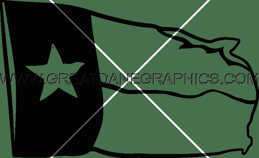 clip art transparent library Flag production ready artwork. Texas outline clipart
