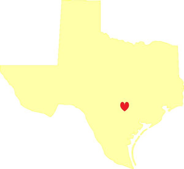 jpg free library Pale yellow clip art. Texas heart clipart