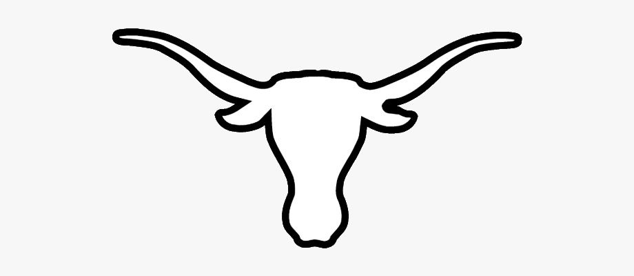picture free stock Texas longhorns clipart. Longhorn head icon coloring