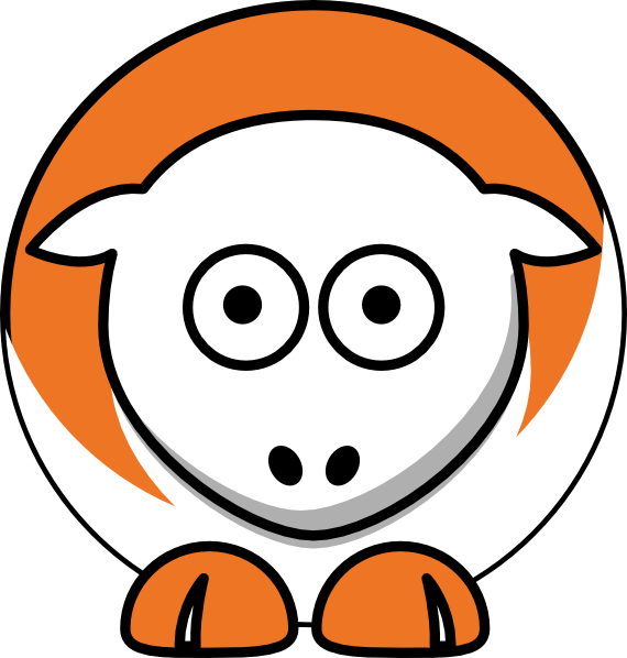 clip library stock Texas longhorns clipart. Sheep team colors college