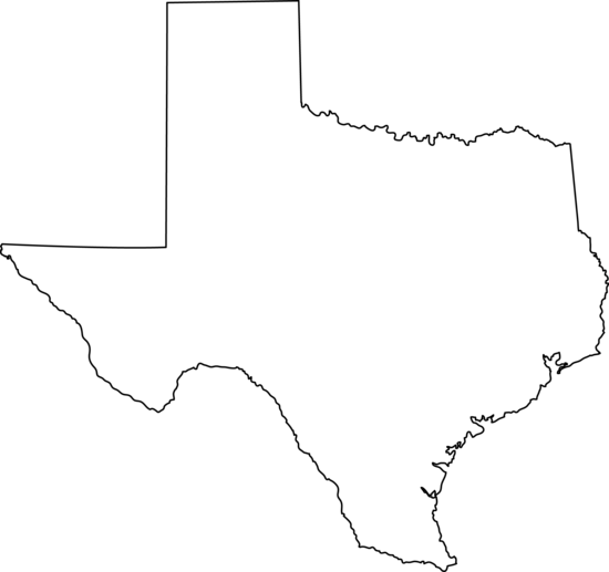 picture free Texas state clipart. Line art free clip