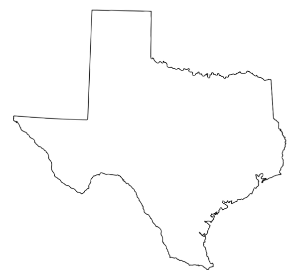 vector library state of texas outline clip art best photos of texas outline stencil