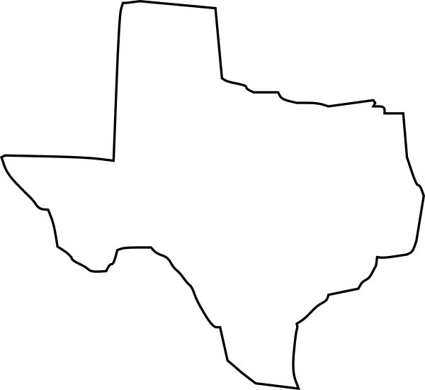 svg free download Texas outline clipart. Clip art at clker