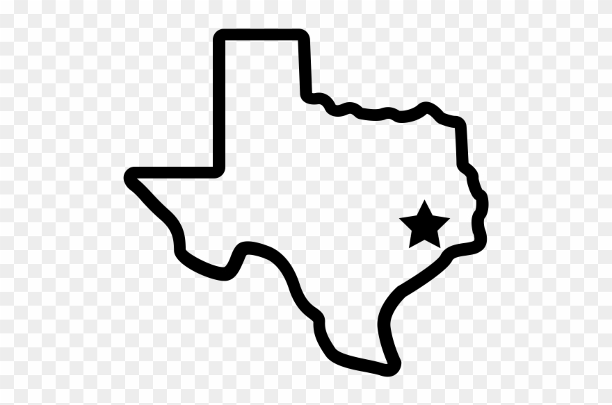 clip royalty free Texas outline clipart. Archives amp reference tslac