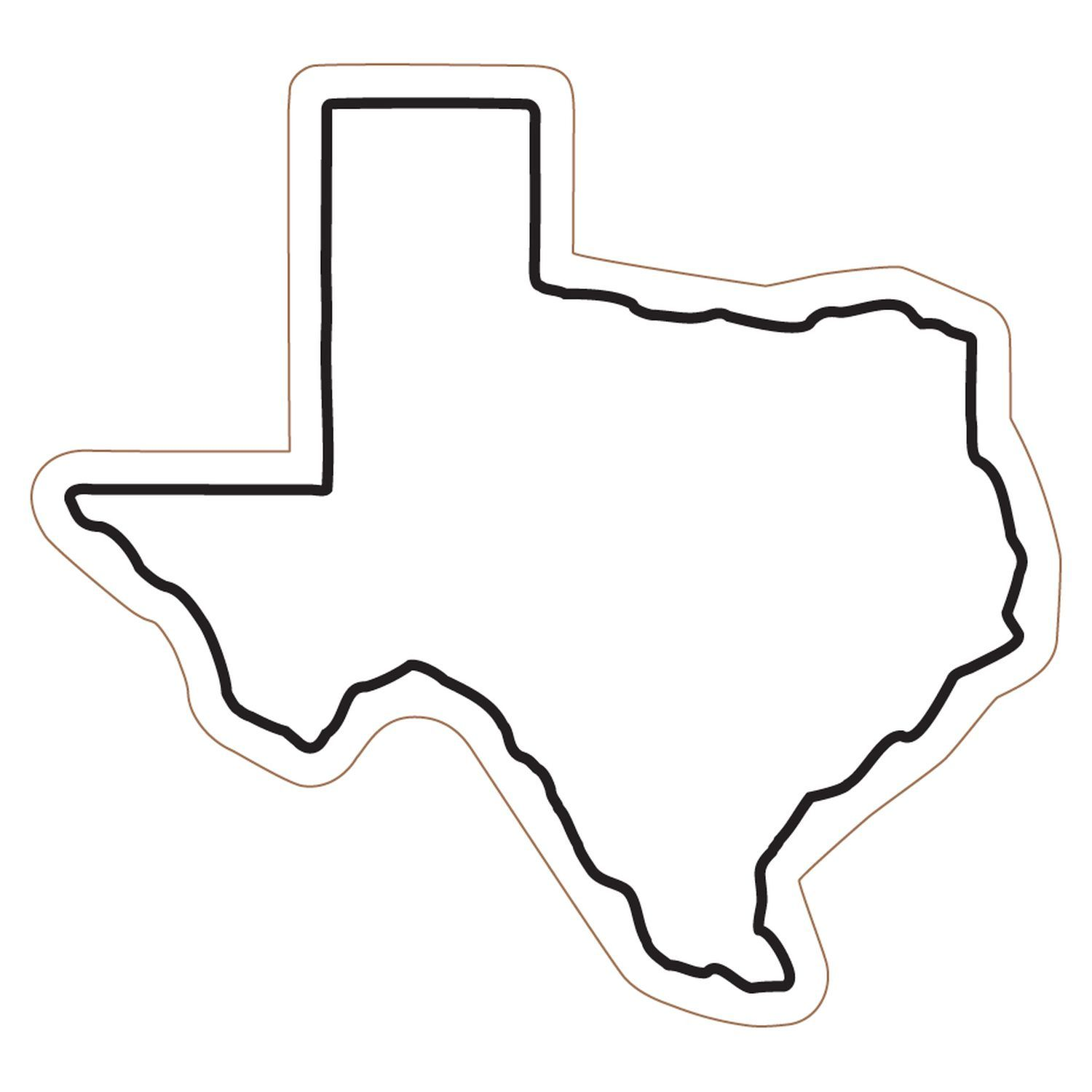 clipart free stock Outline of free download. Texas shape clipart