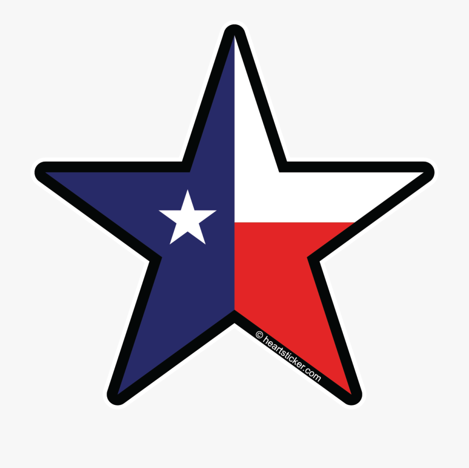 vector stock Lone png logo free. Texas star clipart