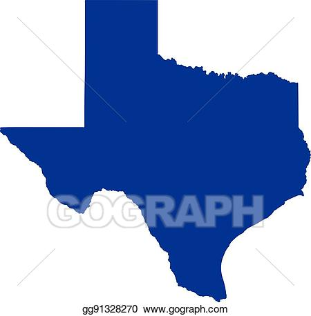 banner royalty free Eps vector map stock. Texas state clipart