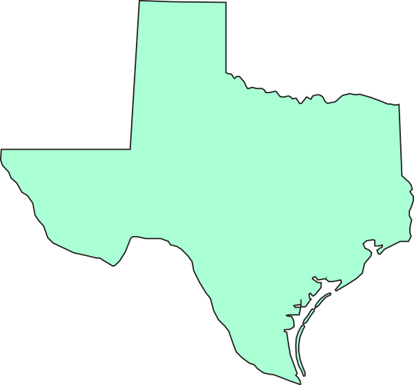 image library Texas state clipart. Mint clip art at
