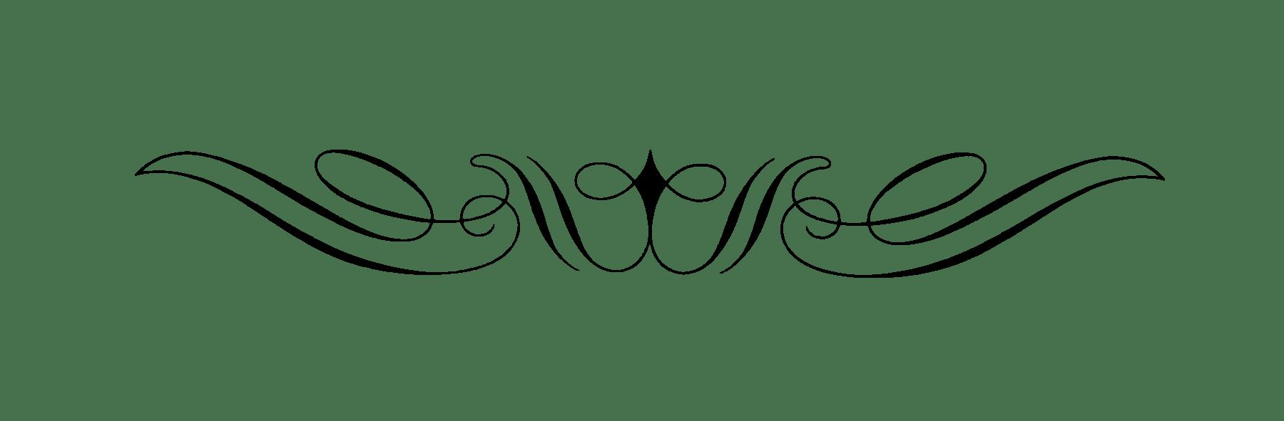 jpg freeuse stock Curly Art Nouveau Divider transparent PNG