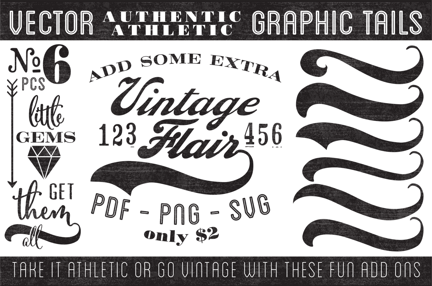 graphic transparent download Vector tail. Vintage graphic tails by