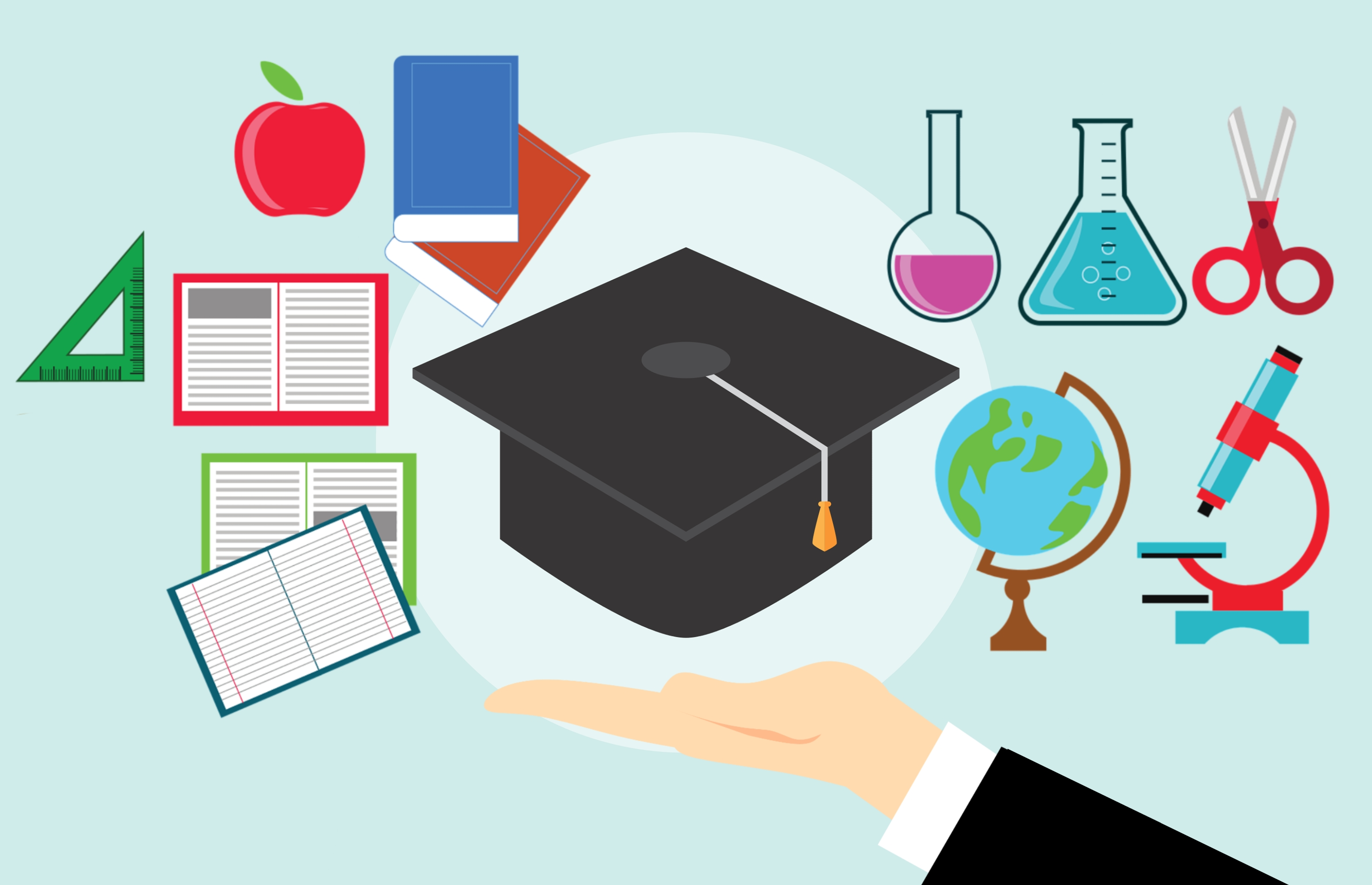 clip library stock Free images graduation book. Textbook clipart educational material.
