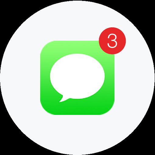 clip art transparent Mass Text Messaging