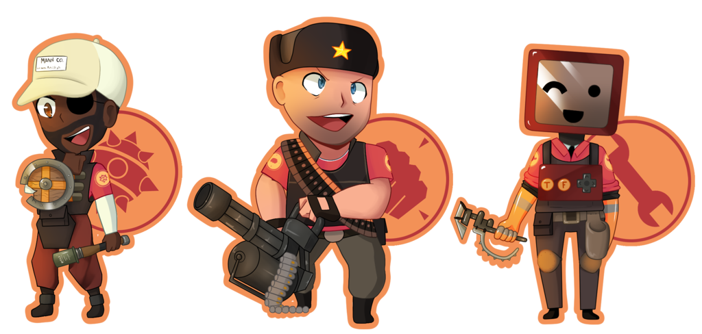 clipart royalty free tf2 drawing person #104710124